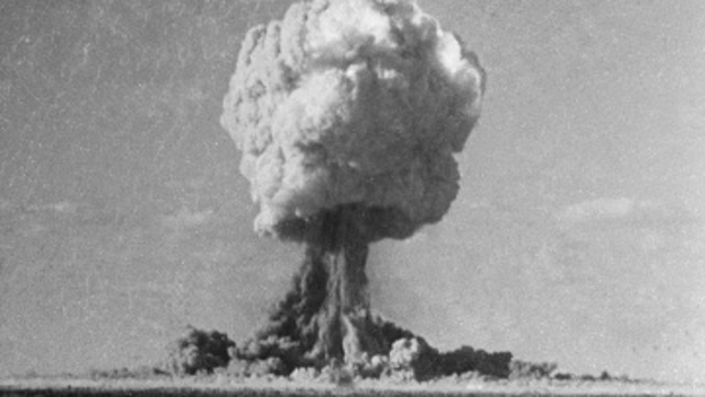 China Tests Atomic Bomb