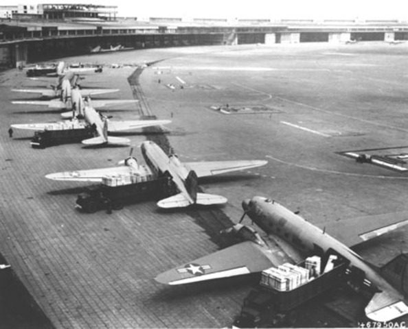 The Berlin Blockade comes to an end