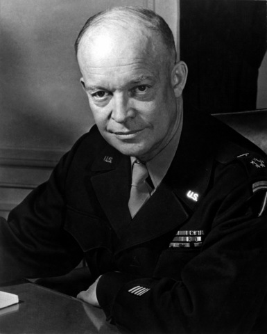 DWIGHT D. EISENHOWER comes to power