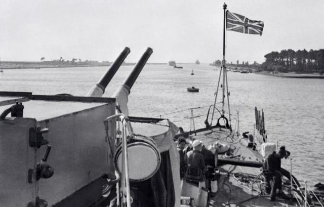 Nasser Incident (2) (Suez Canal incident)