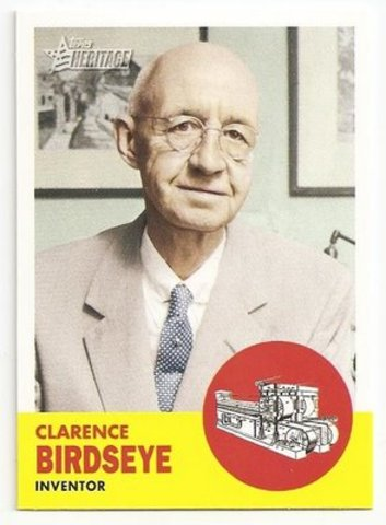 Clarence Birdseye's Birthday ~ Inventor