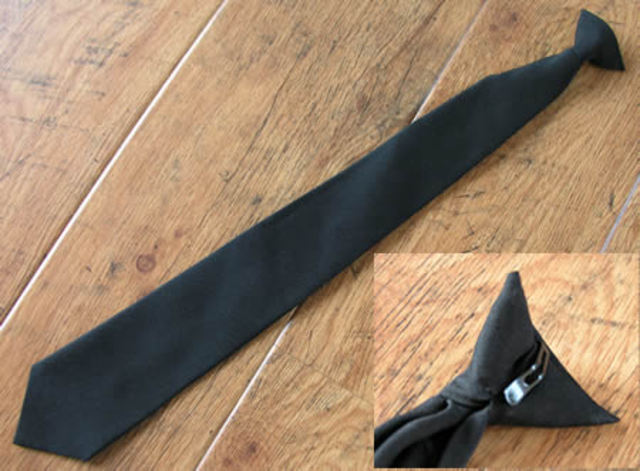 Clip On Tie Invented