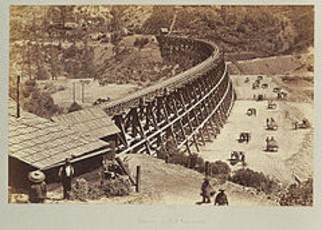 Central Pacific Railroad Co. Recruited for Transcontinental Railroad