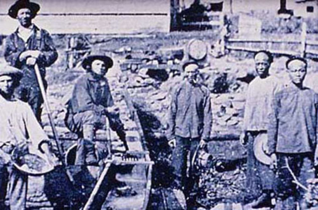 First Chinese-American Strike