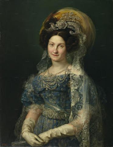 Regencia de María Cristina de Borbón: Primera Guerra Carlista