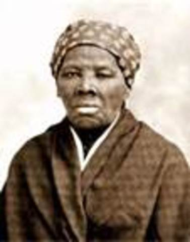 The harriet tubman home was founded and a plaque was made