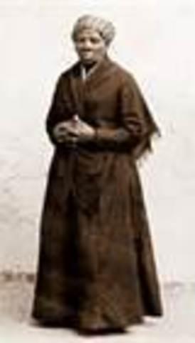 Harriet Tubman is married.