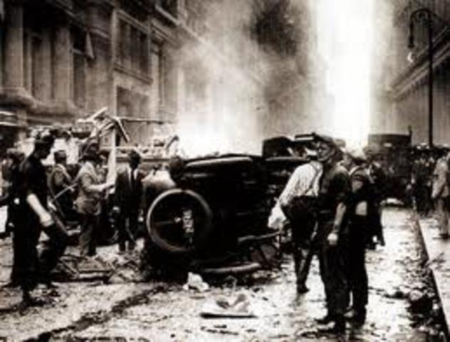 1920- wall street bombing (terrorist incident)