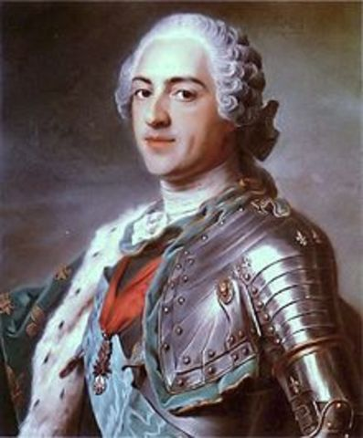 Louis XV of France.