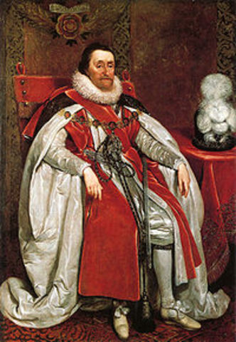James I of England.