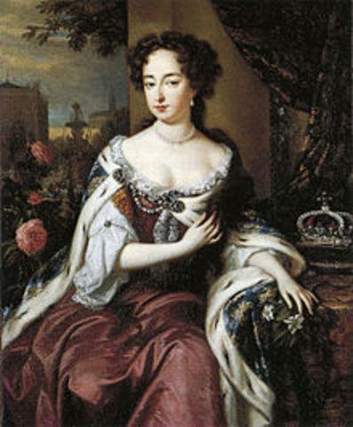 Mary II of England.
