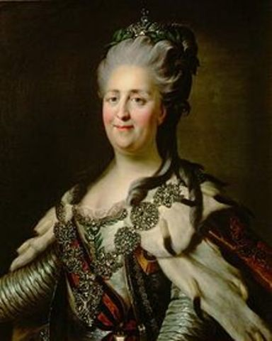 Catherine II of Russia.