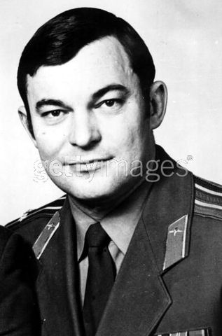 Cosmonaut Yuri V. Romaneko