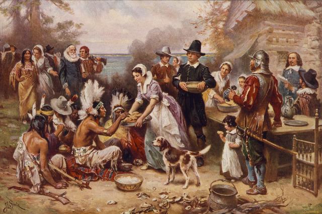 Pilgrims settled in Massachusetts