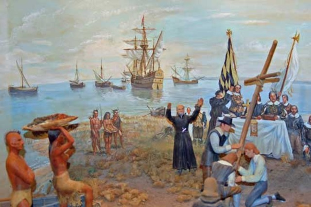 Protestants had gained power and started persecuting Catholics