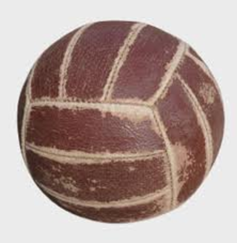 A Specific Ball Designed For The Sport