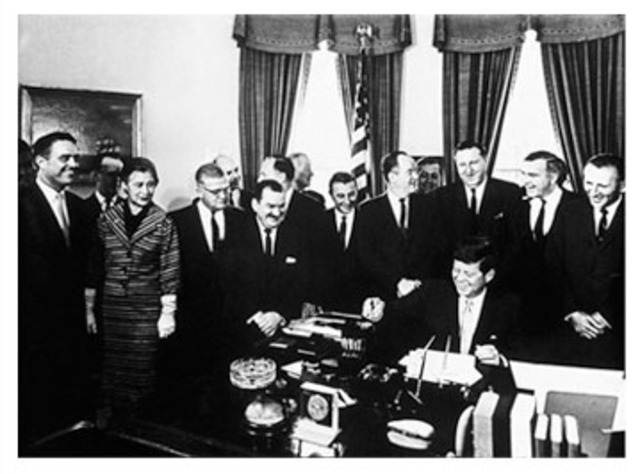 Peace Corps Act Passed