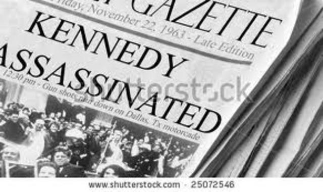 President John F. Kennedy Assassinated
