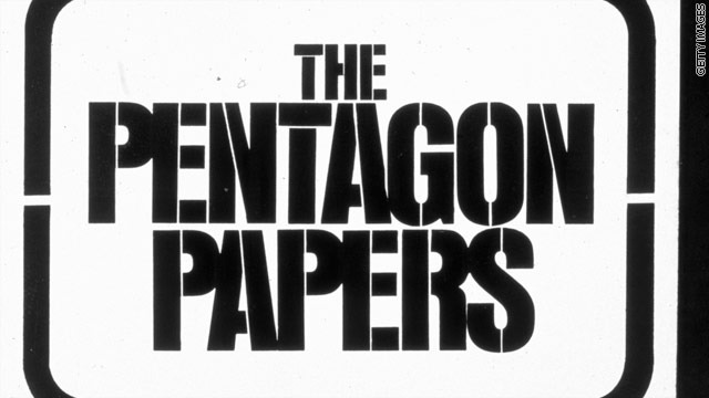 Pentagon Papers leaked