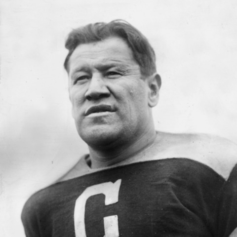 Jim Thorpe the first president in the APFA