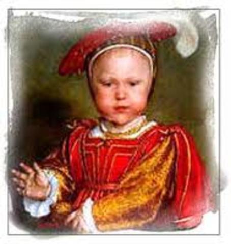 Prince Edward is born