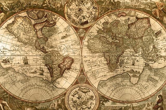 Ptolemy World Globe