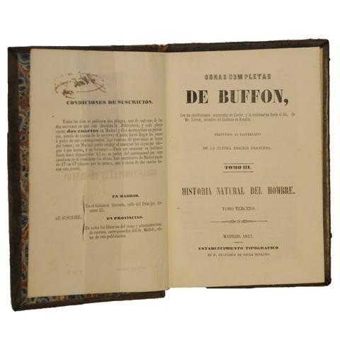Buffon trajo la idea de la evolución en el reino de la ciencia.