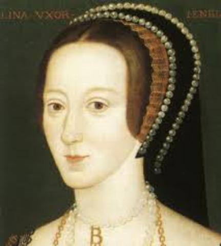 Ann Boleyn married King Henry