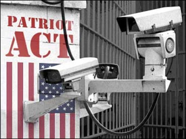 Patriot Act enacted