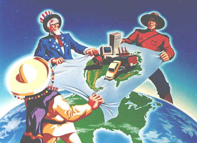 North American Free Trade Agreement formed