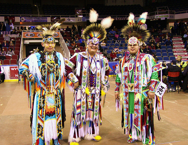 Staff Members Attend the International Peace Pow Wow