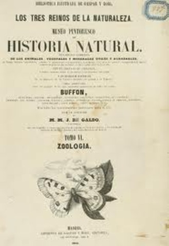 Publicó su principal obra: Historia natural de los invertebrados -Lamarck