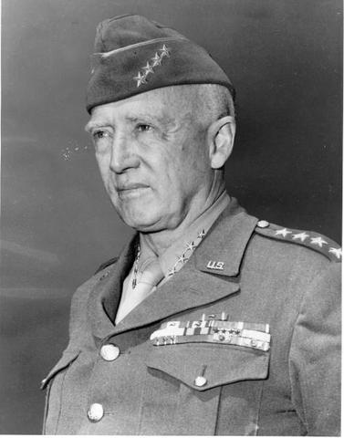George S. Patton was born.