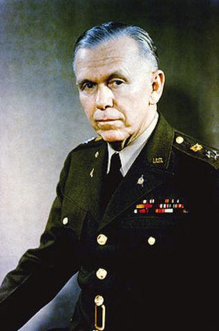 George Marshall was born.