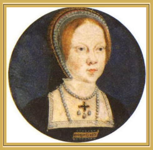 Henry and Catherine's daughter Mary is born