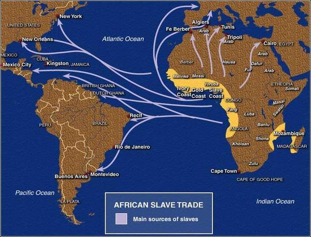 No more Slave Trade