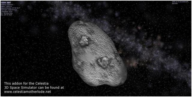 Asteroid XM1
