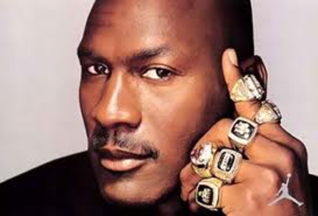 Michael Jordan won the Slam Dunk Contest during the NBA All-Star game
