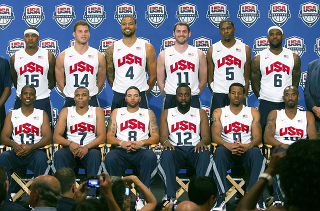 NBA Pro's were finally allowed to participate in the Olympics.