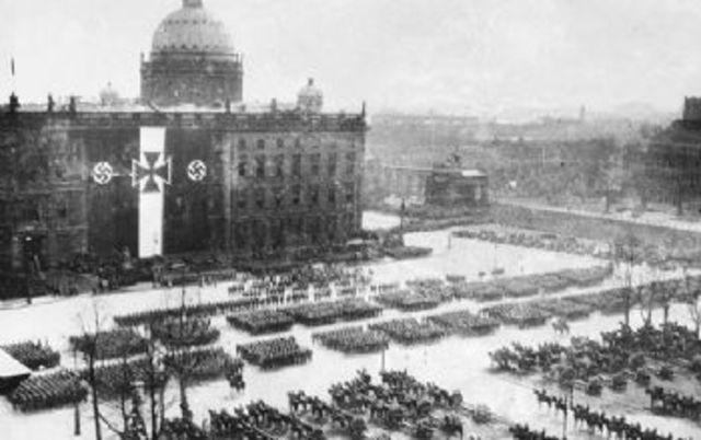 Hitler Starts Rearming the German Military