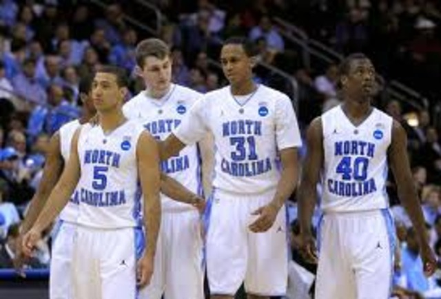 North Carolina wins the NCAA championship with a perfect record of 32-0.