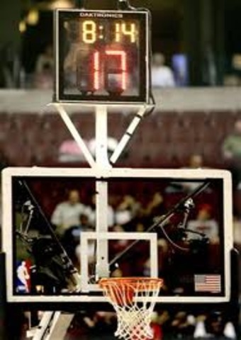 The NBA introduces the 24-second clock.
