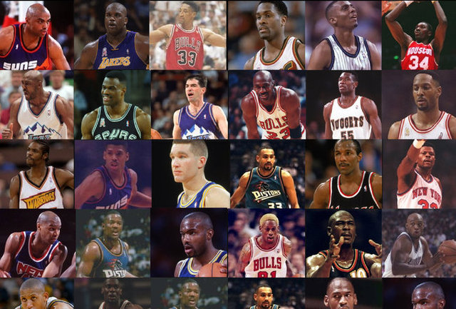 NBA Exciting 90's