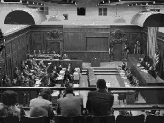 Nuremburg War Trials