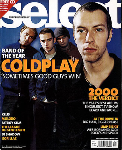 "Coldplay named ""band of the year"""