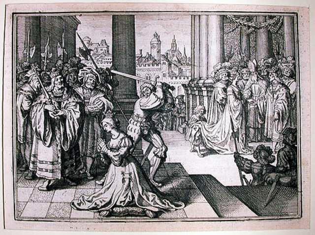 Anne Boleyn Executed