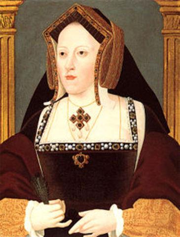 King Henry VIII marries Catherine of Aragon