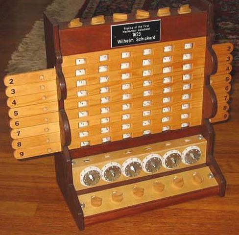 Primer calculadora mecanica
