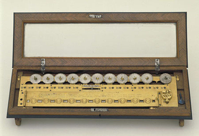 Primer maquina de multiplicar.