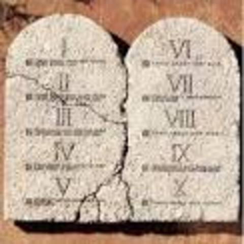 The Ten Commandments: Exodus 20